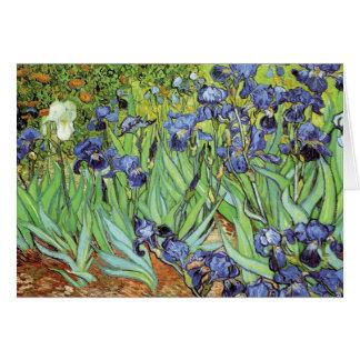 Irises by Van Gogh Thank You Card