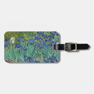 Irises by Vincent Van Gogh 1889 Bag Tag