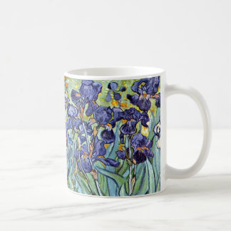Irises by Vincent van Gogh 1898 Basic White Mug