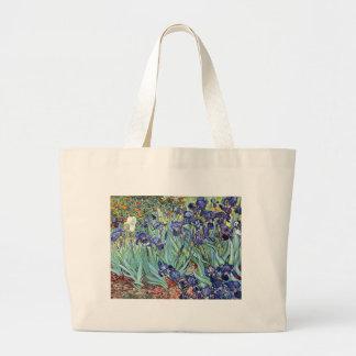 Irises by Vincent van Gogh 1898 Large Tote Bag