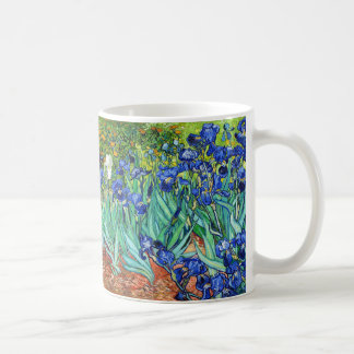 Irises By Vincent Van Gogh Basic White Mug