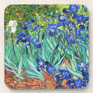 Irises By Vincent Van Gogh Beverage Coaster
