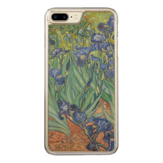 Irises by Vincent van Gogh GalleryHD Fine Art Carved iPhone 8 Plus/7 Plus Case