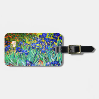 Irises By Vincent Van Gogh Luggage Tag