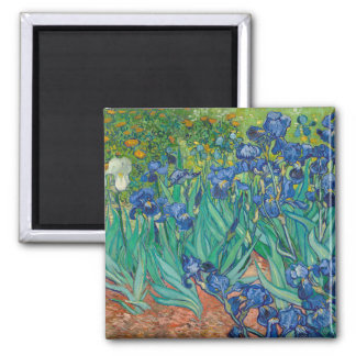 Irises by Vincent van Gogh Fridge Magnets