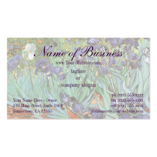 Irises by Vincent van Gogh Pack Of Standard Business Cards