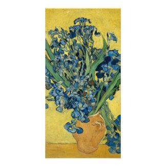 Irises by Vincent Van Gogh Picture Card