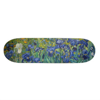 Irises by Vincent Van Gogh Skate Boards