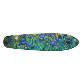 Irises by Vincent van Gogh Skate Deck