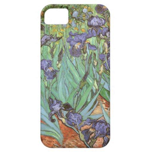 Irises by Vincent van Gogh, Vintage Garden Flowers Case For iPhone 5/5S