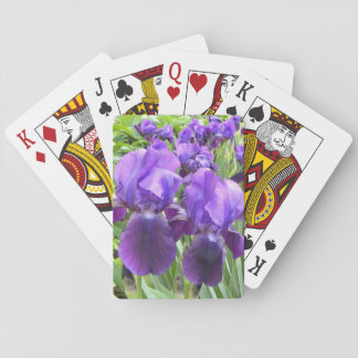 Irises in Bloom Playing Cards