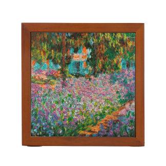 Irises In Monets Garden Desk Organiser