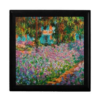 Irises In Monets Garden Gift Box