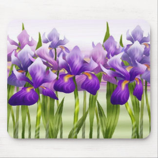 Irises mousepad