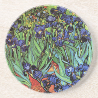 Irises, Saint-Remy, Van Gogh Coaster