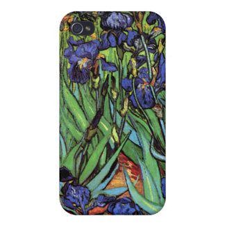Irises, Saint-Remy, Van Gogh Cover For iPhone 4
