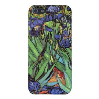 Irises, Saint-Remy, Van Gogh iPhone 5 Covers