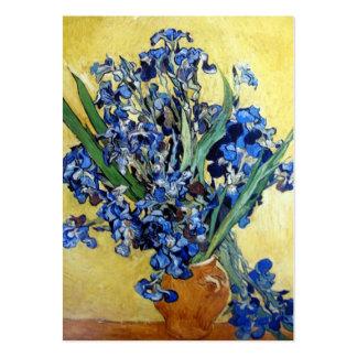 Irises Vincent van Gogh Business Card Templates