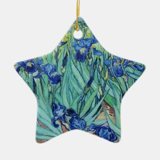 Irises, Vincent van Gogh Christmas Tree Ornament