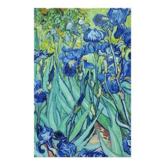 Irises, Vincent van Gogh Custom Stationery