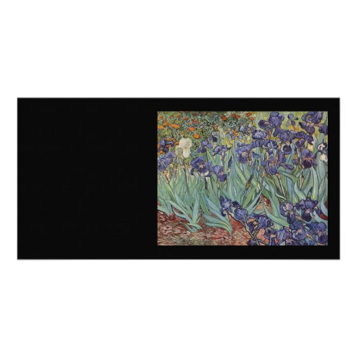 Irises - Vincent Willem van Gogh Personalized Photo Card