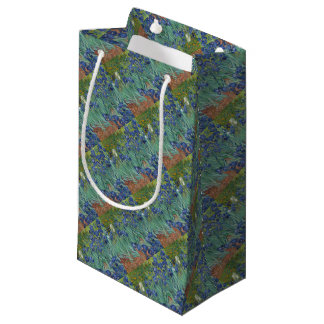 Irises - Vincent Willem van Gogh Small Gift Bag