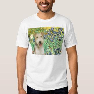 Irises - Wire Fox Terrier #1 T Shirt
