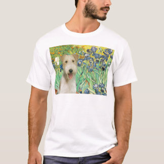 Irises - Wire Fox Terrier #1 T-Shirt