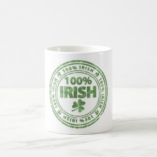 irish 100% magic mug