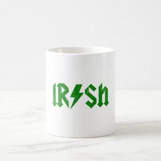 Irish AC/DC Green Basic White Mug
