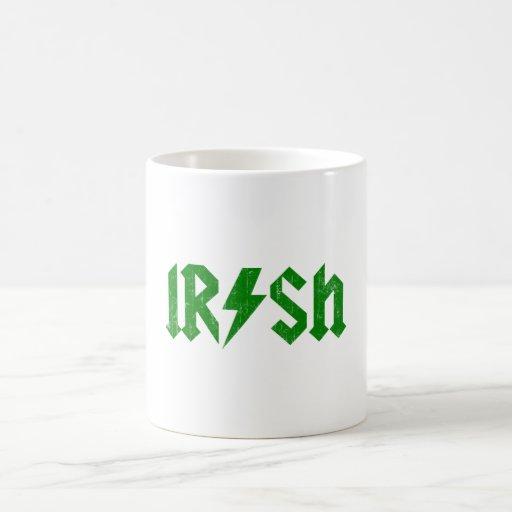 Irish AC/DC Green Mug