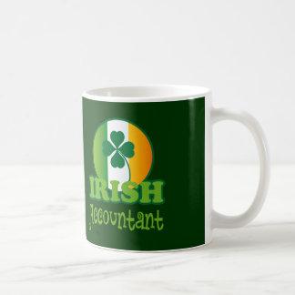 Irish Accountant Gift Basic White Mug