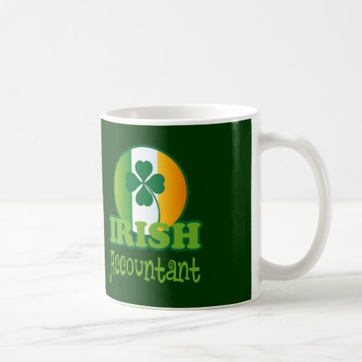 Irish Accountant Gift Mugs