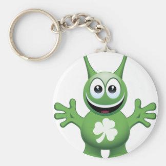 Irish Alien Key Ring