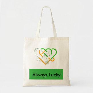 "Irish ""Always Lucky"" Tote Bag"