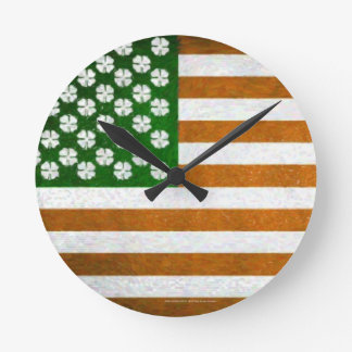 Irish American 015 Wall Clocks