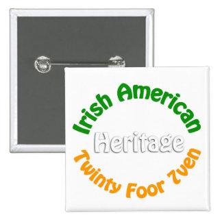 Irish American Pins