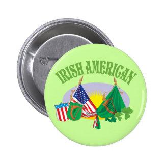 Irish American Buttons