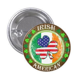 Irish American Pinback Buttons