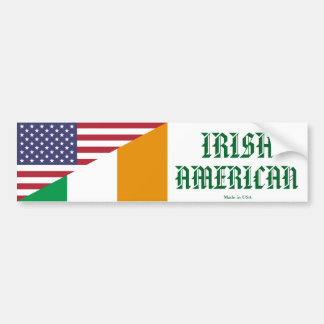 Irish - American Bumper Sticker