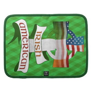 Irish American Cross Smartphone Folio Organizer