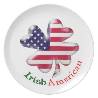 Irish American Dinner Plate