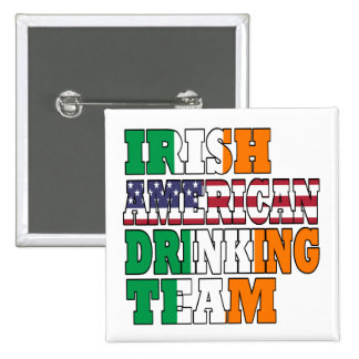 Irish American Drinking Team Pins