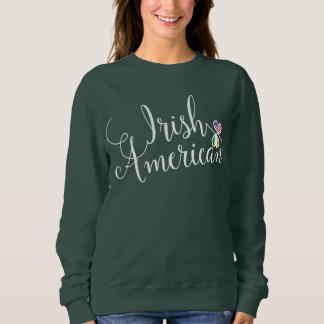 Irish American Entwinted Hearts Sweatshirt