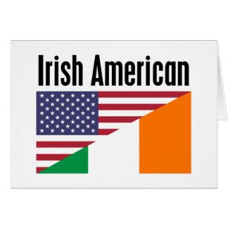 Irish American Greeting Card