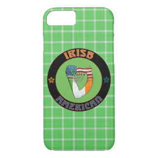 Irish American Harp Cell Phone Case