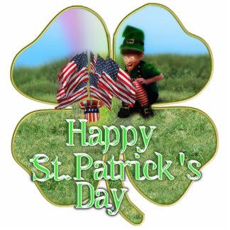 Irish American Leprechaun Acrylic Cut Outs
