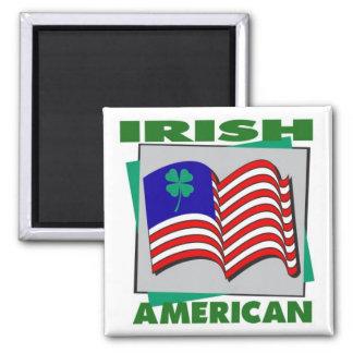 Irish American Fridge Magnet