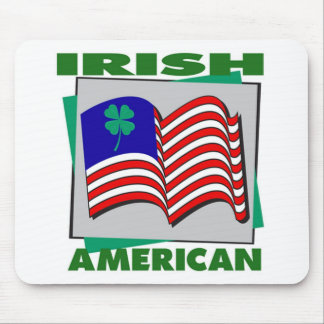 Irish American Mouse Pad