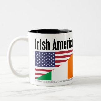 Irish American Two-Tone Coffee Mug